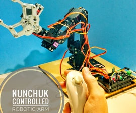 Nunchuk Controlled Robotic Arm (with Arduino)