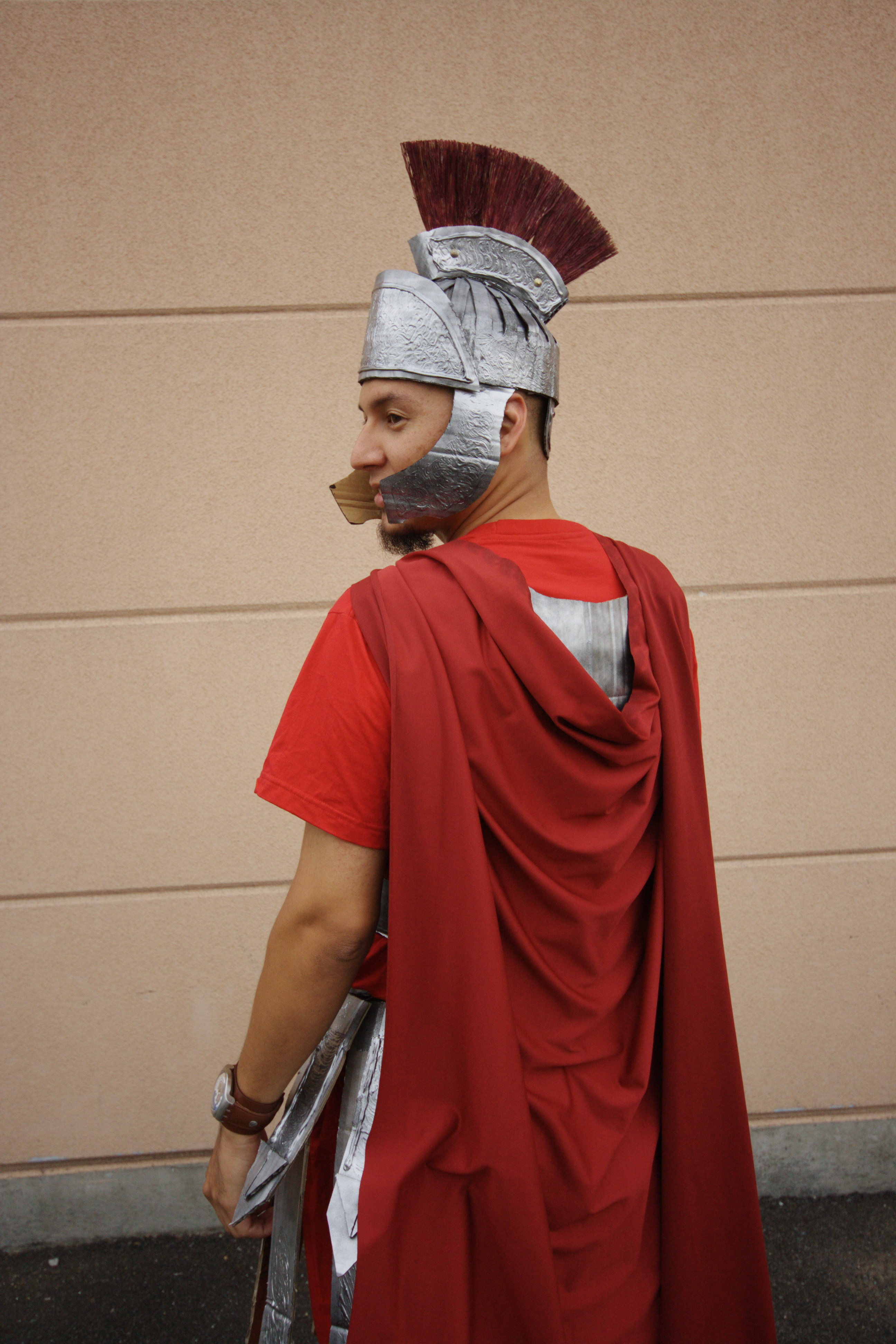 Picture of Roman-esque Soldier Uniform - From Cardboard!