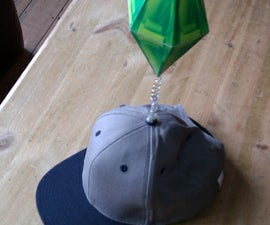 How to Make a Sims Plumbob Hat