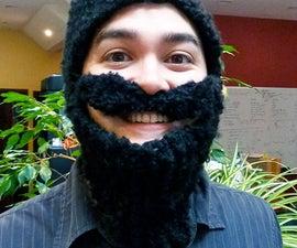 Knit Beard Hat