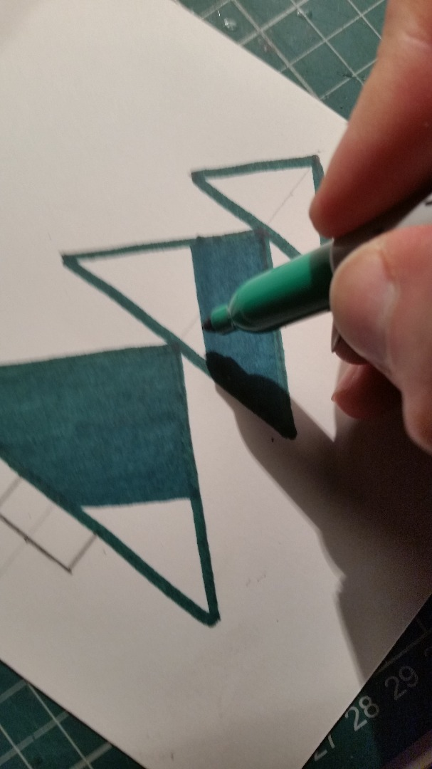Picture of Draw and Color Your Christmas Card