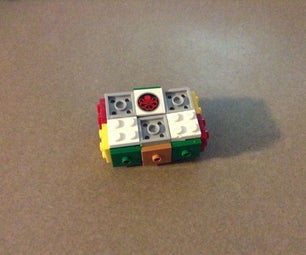 The Fully Functional, Compact 1x2x3 Lego Rubik's Cube!