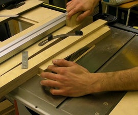 Taper Cutting Jig for Table & Band Saws