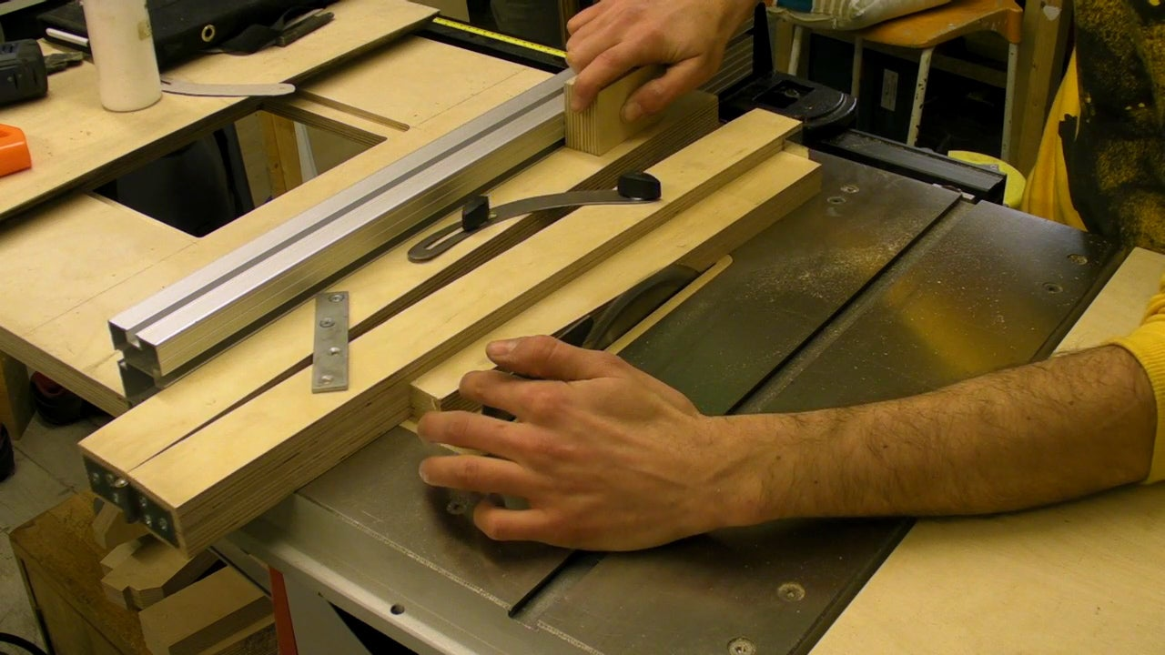 Taper Cutting Jig For Table Band Saws