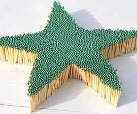 Amazing Fire Domino - 8000 Matches Chain Reaction L Star Shaped