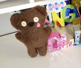 DIY No-Sew Bear Inspired by Minion Bob's Bear