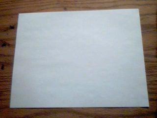 Make a Paper Kunai Knife