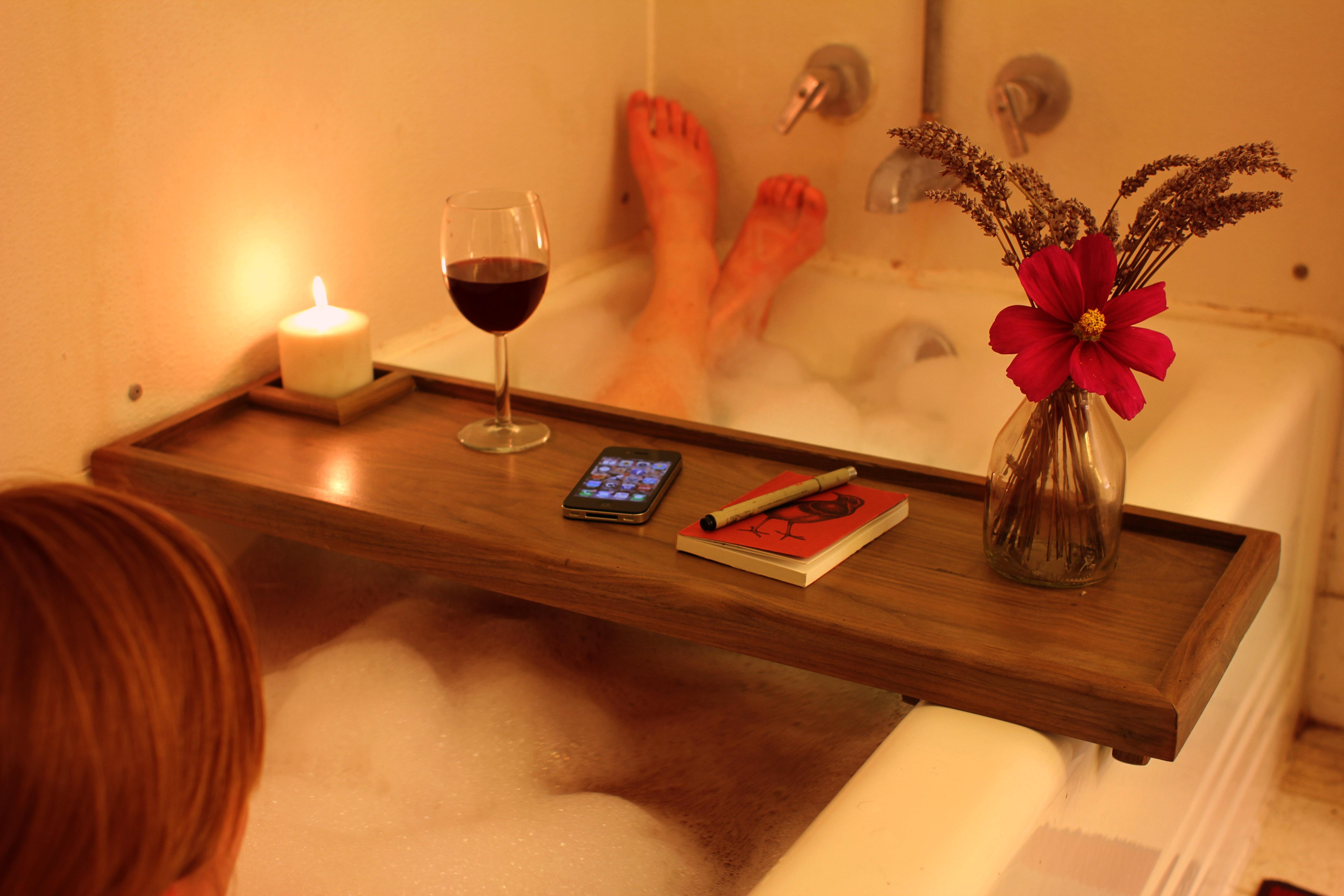 Amazing Tub Rack Collection - Bathroom and Shower Ideas - purosion.com