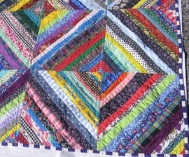 Schnibble Quilt - quick, easy & two-sided