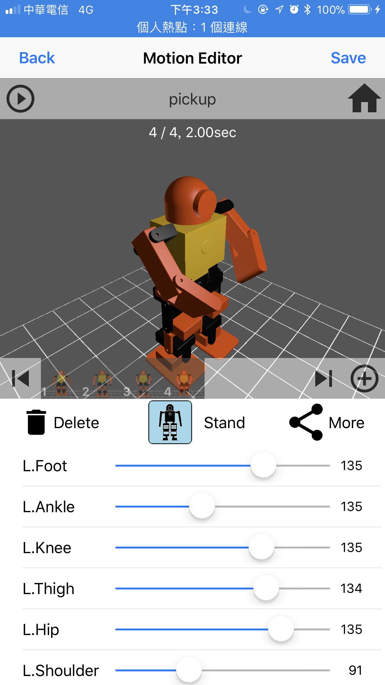 Picture of Create Motion for Your Robot