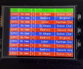 UK Train Display
