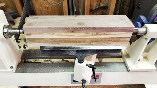 Center and Turn Rolling Pin Body