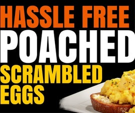"""Food Hack - Hassle Free """"Poached"""" Scrambled Egg"""