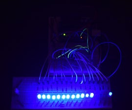 Arduino 16 LEDs using two 74HC595 shift registers (unlimited pins)