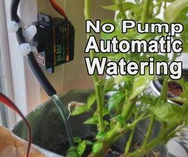No Pump Automatic Watering!