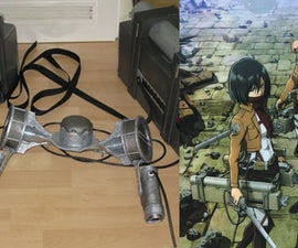 Attack on Titan/ SnK 3d Maneuver Gear