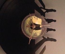 Abbey Road Record Clock