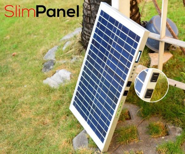 DIY Portable Solar Powerbank (w/ 110v Outlets & USB Ports)