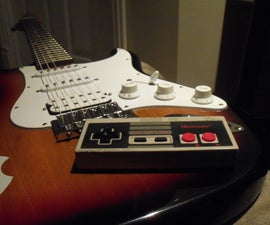 NES controller guitar Killswitch