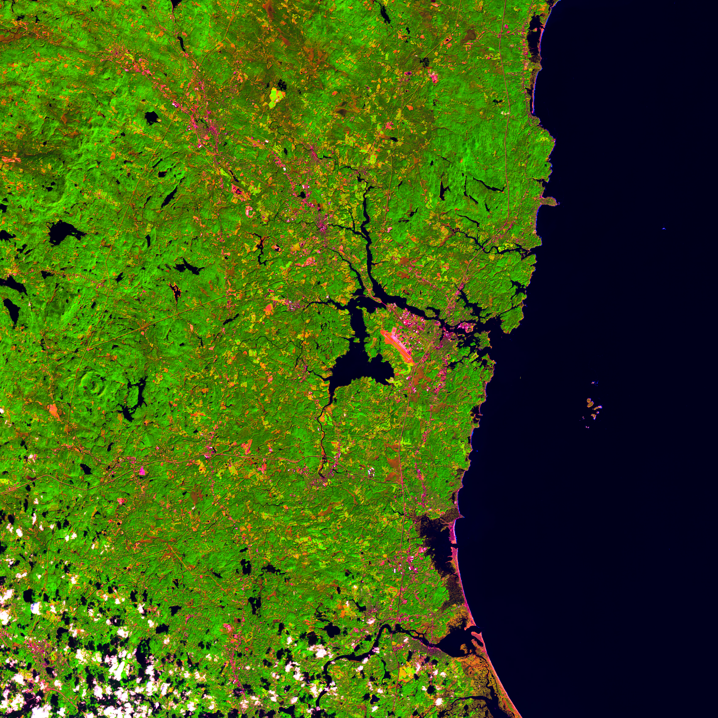 Picture of Creating Satellite Imagery - Landsat