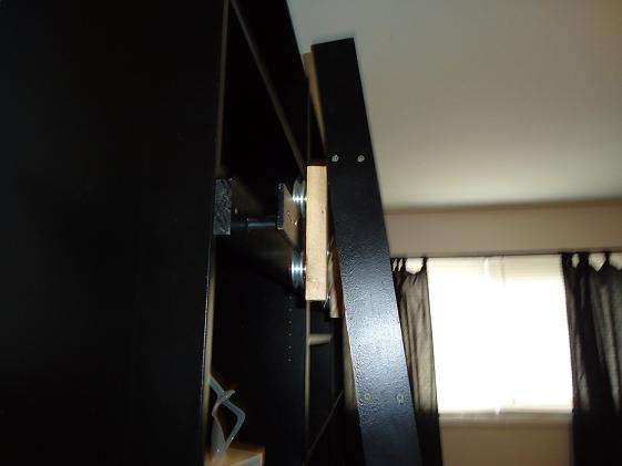 Picture of Attaching the Pulley Bracket and Finally, the Rolling Ladder