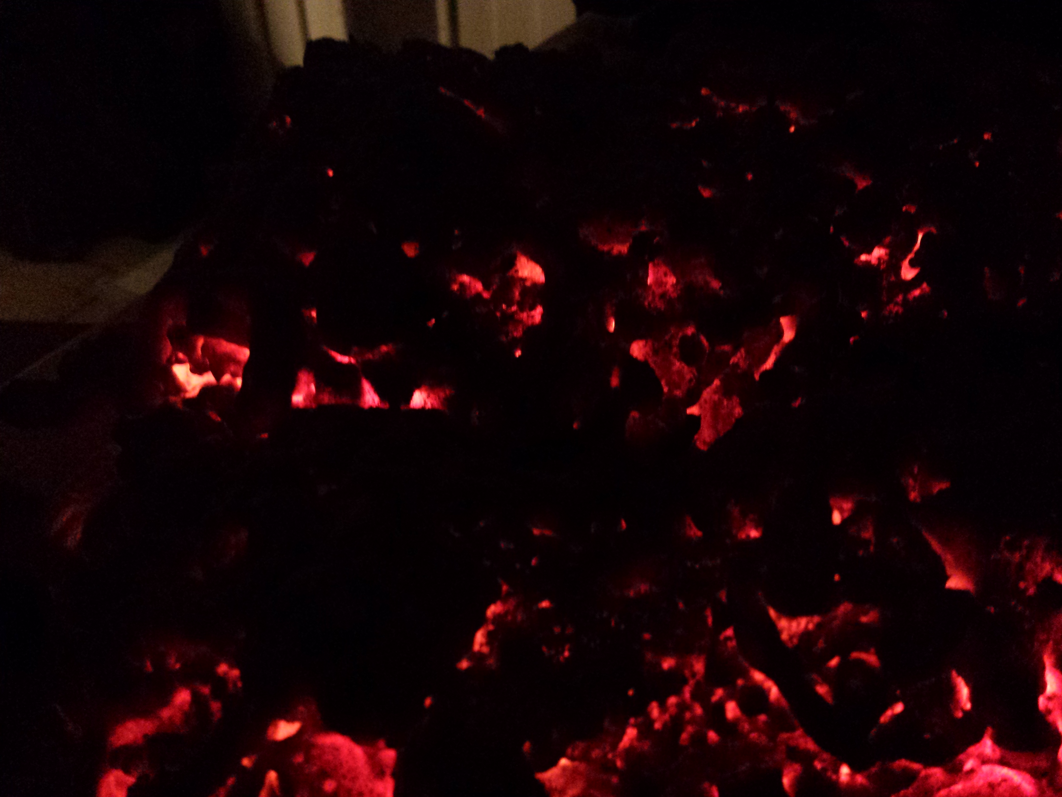 Picture of Burning Embers Halloween Prop