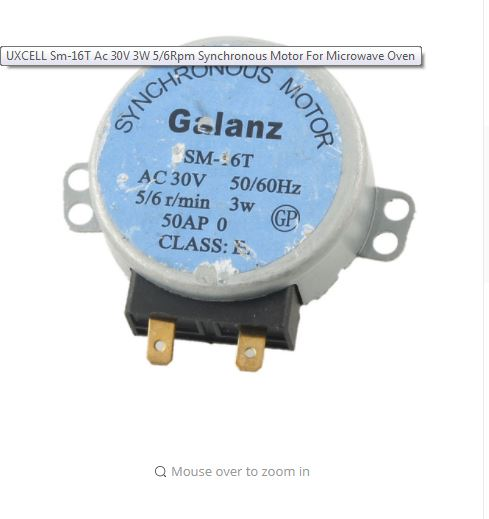 Picture of AC 30v 50/60Hz Synchronous Motor from 110