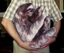 Saul the Sloth - 'Hanging Humor'
