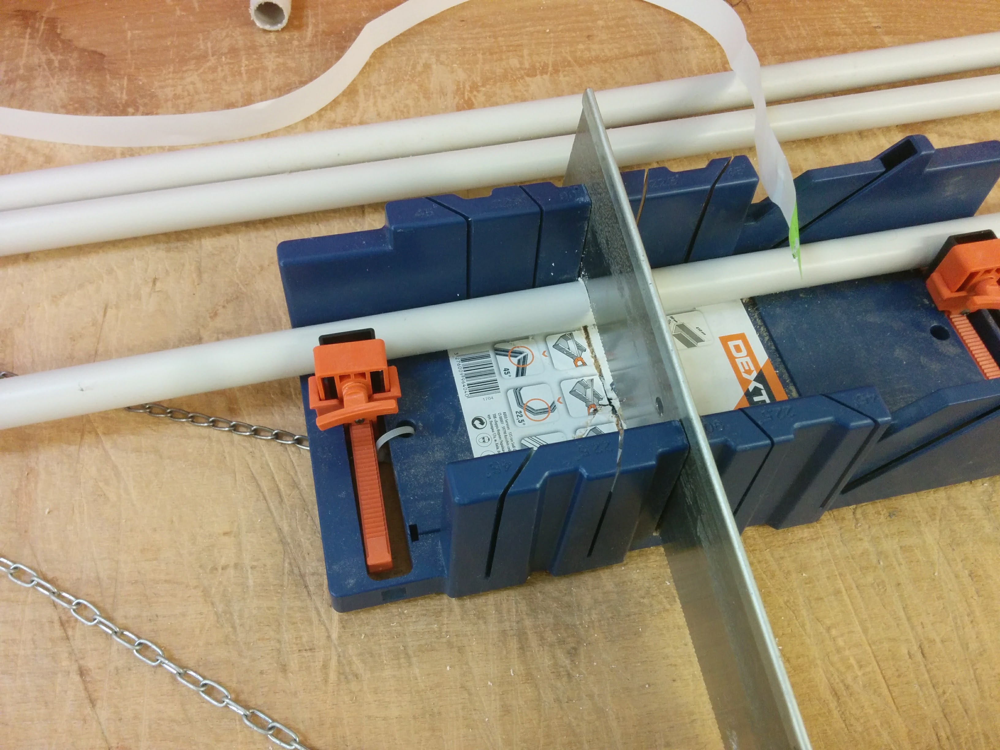 Picture of Buying and Cutting PVC Pipes