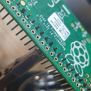 Solder GPIO Header Pins to Pi Zero
