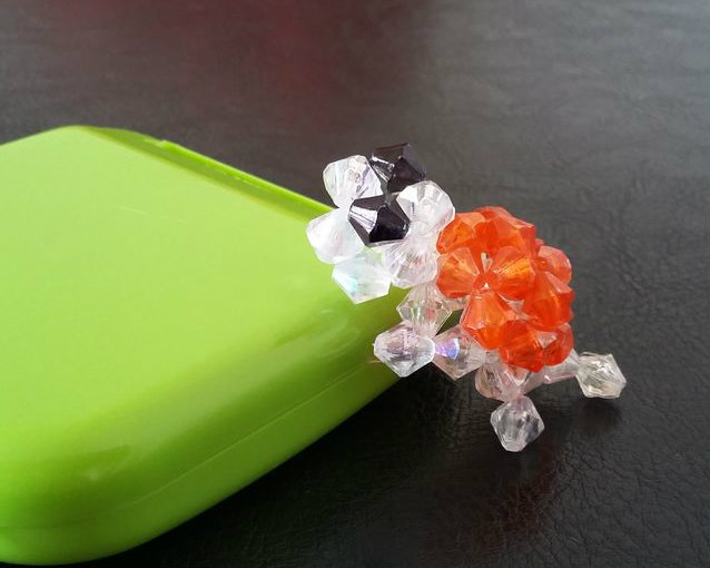 Picture of Beaded 3D Turtle