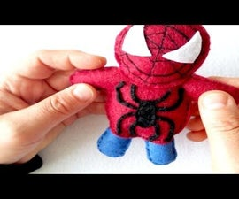 How to Make Felt SPIDERMAN  ? ? ?