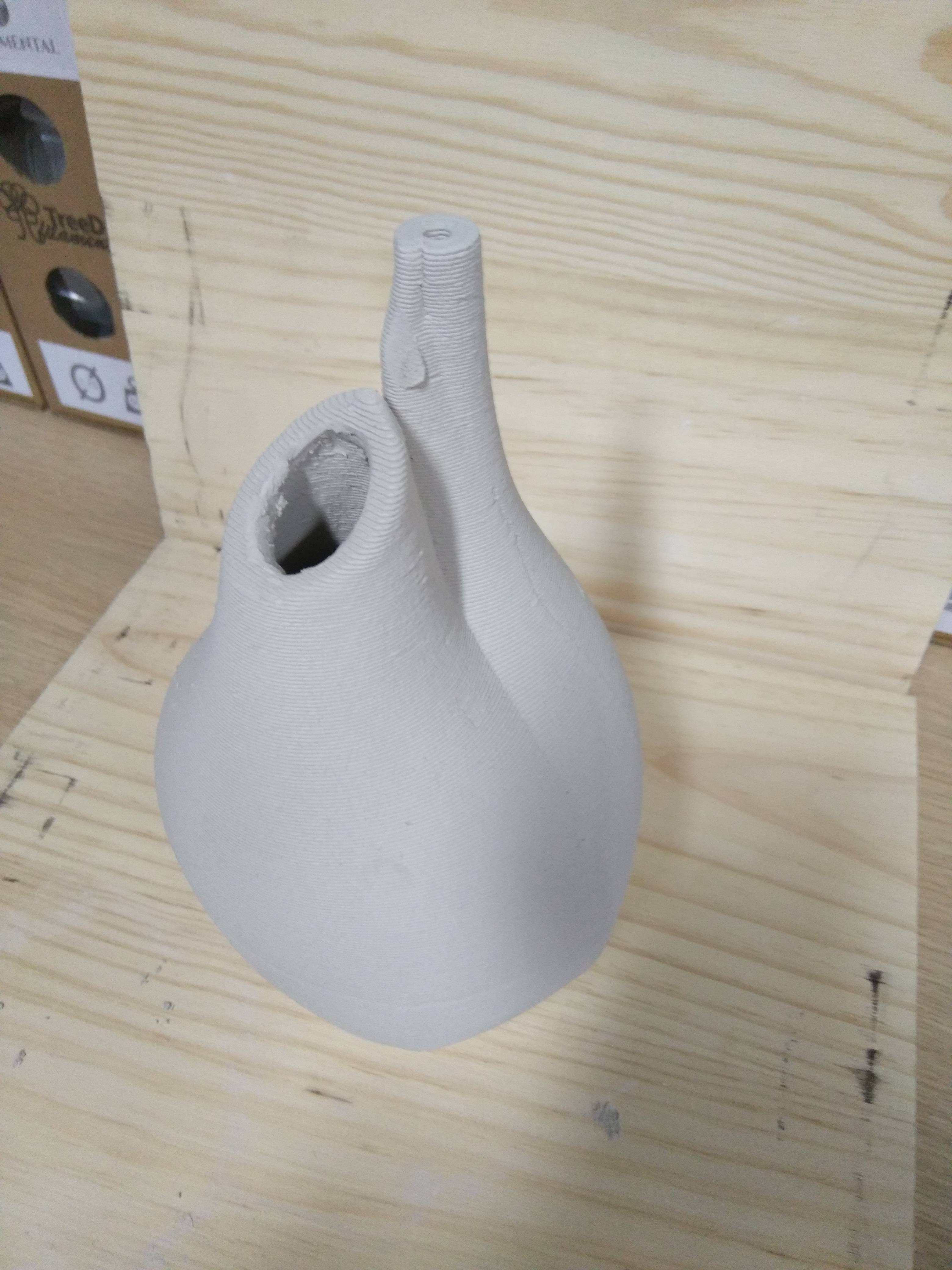 Picture of 3D Printed Clay Natural Refrigerator (botijo)