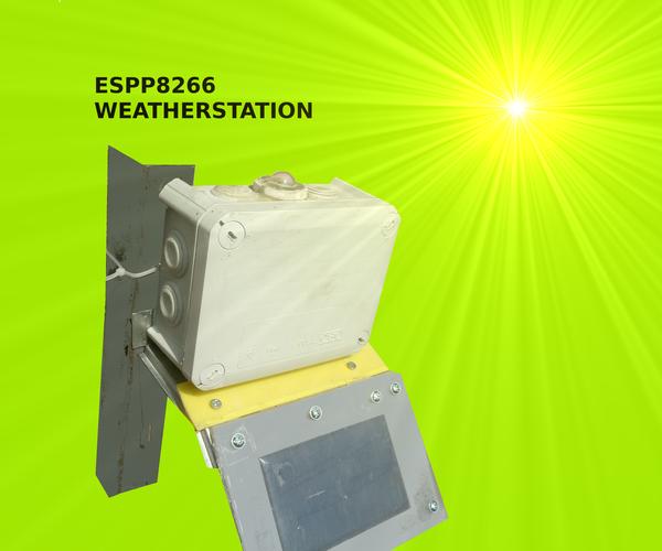 ESP8266 Weatherstation