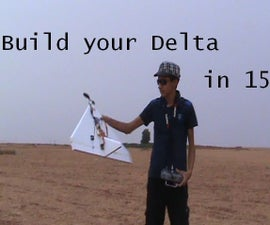 How to build rc delta plane with your own design ; in less than 15min