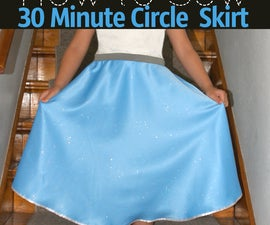How to Sew a Circle Skirt in 30 Mins