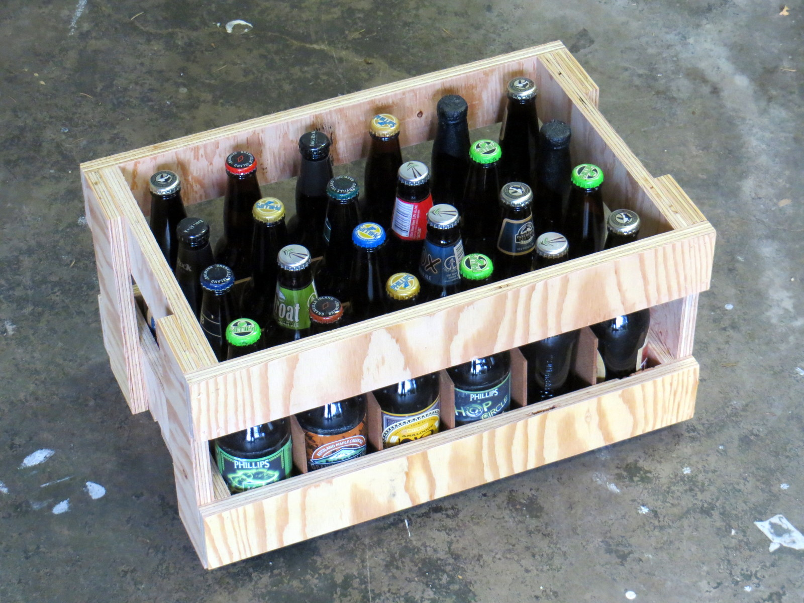 Picture of Combine Parts and Add Beer
