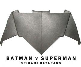 Batman V Superman: Origami Batarang