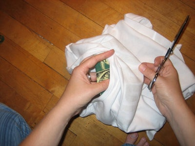 Trim the Edges Along the Sewing Line