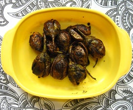 Pan-fried, Gluten-free Whole Eggplant Vegetables