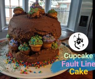Cupcake Fault Line Cake StewieWorks