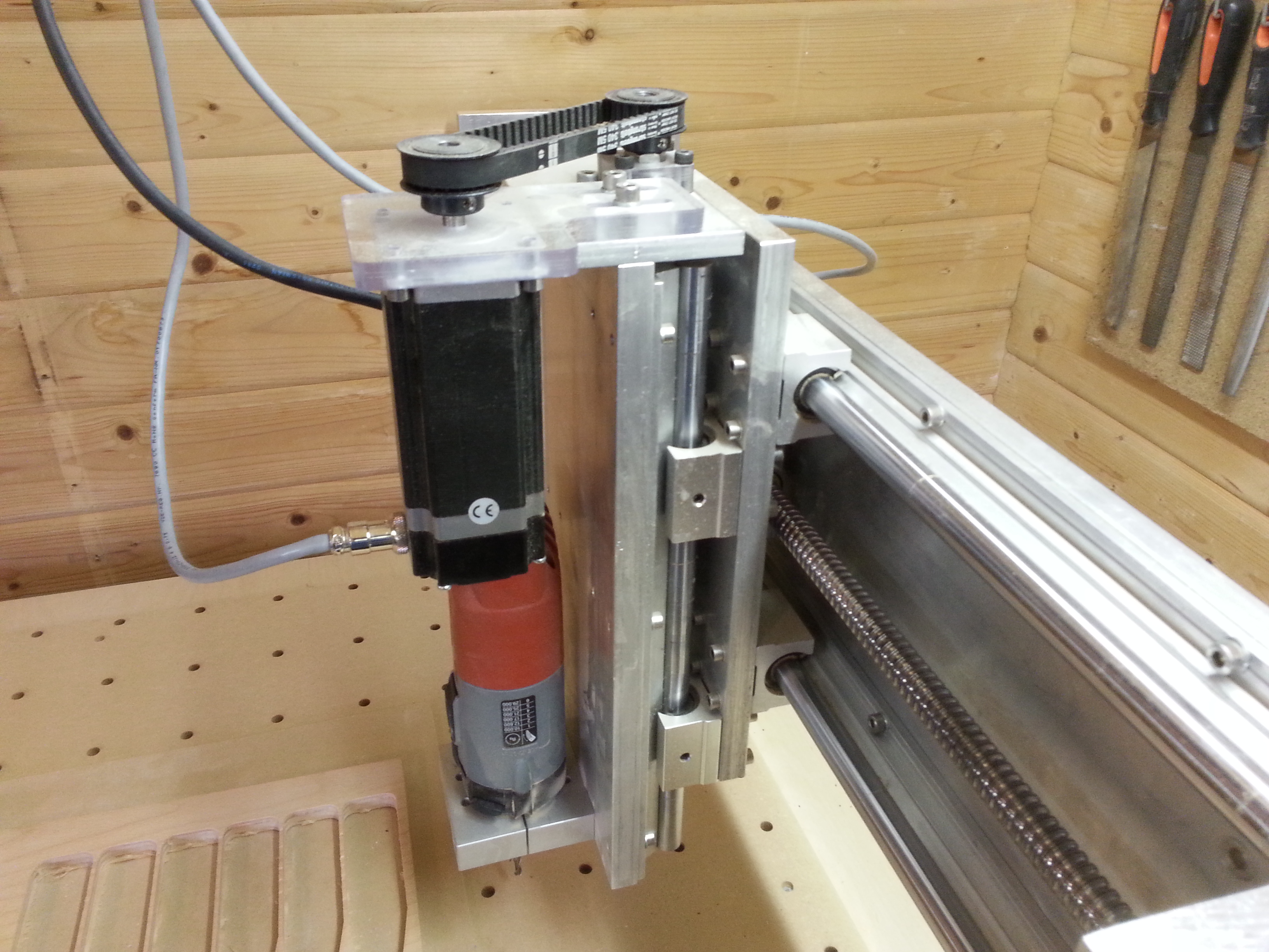 Picture of Building a CNC Router