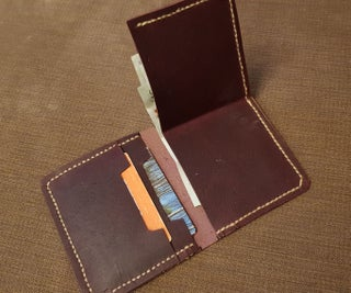 Funky Leather Wallet (includes Pattern)