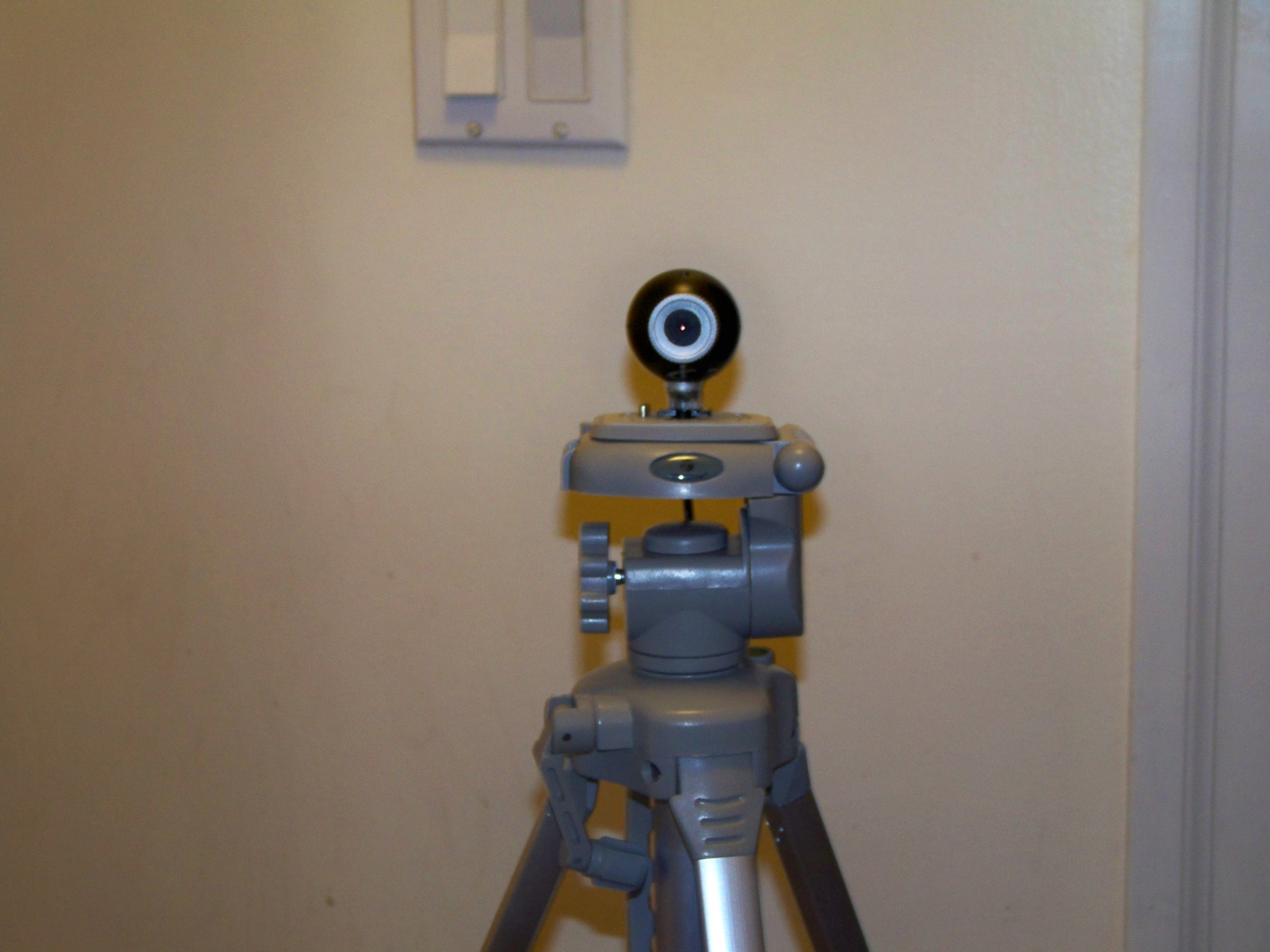 Picture of WebCam Tripod Mount (a Basic Instructable)