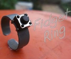 Fidget Ring. Small Wearable Fidget Toys