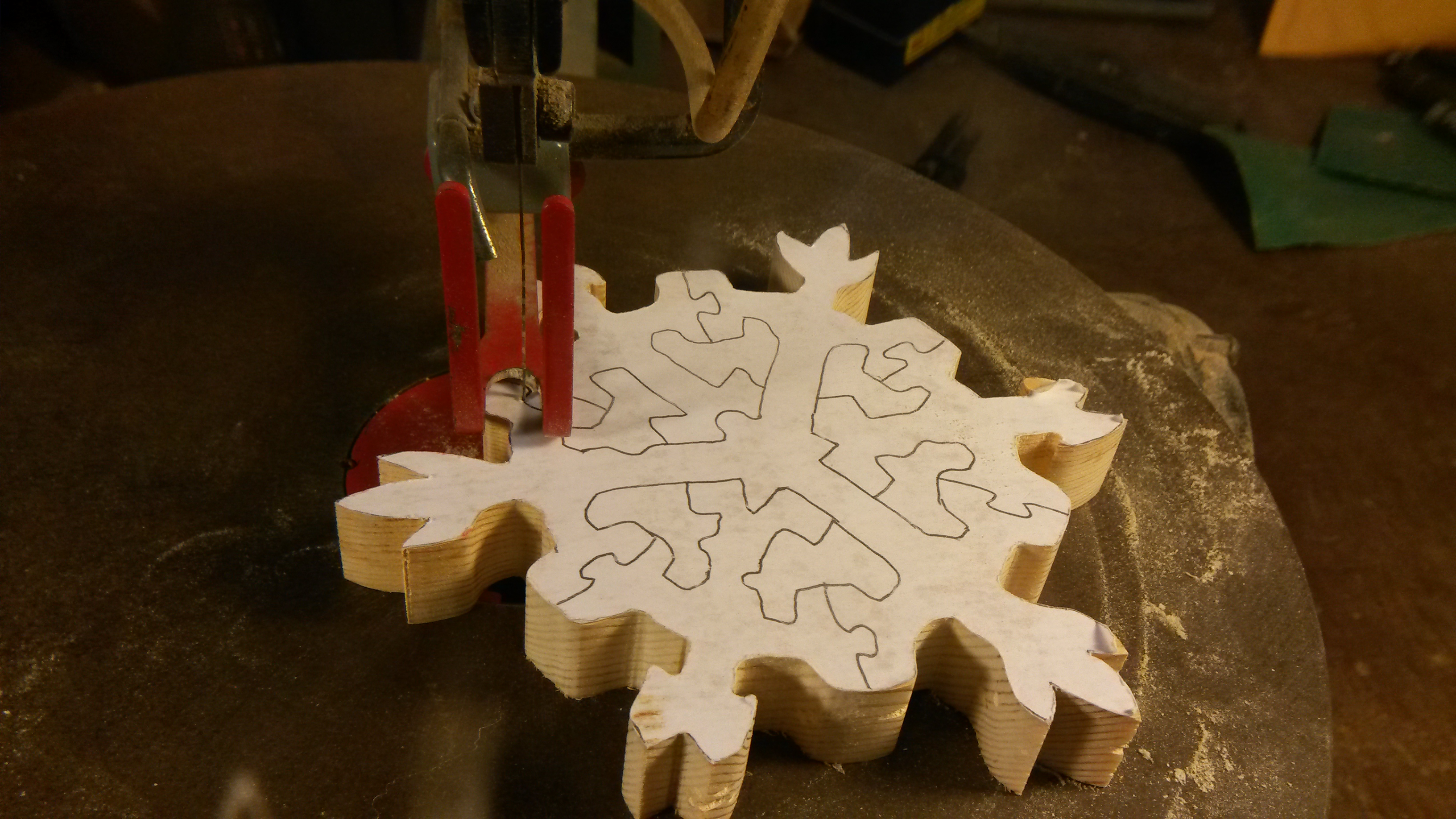 Picture of Cut Out the Puzzle Pieces