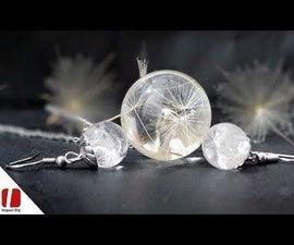 Dandelion in Resin Sphere & Mold