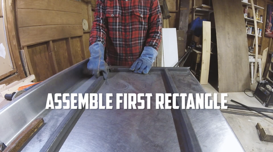 Weld First Rectangle