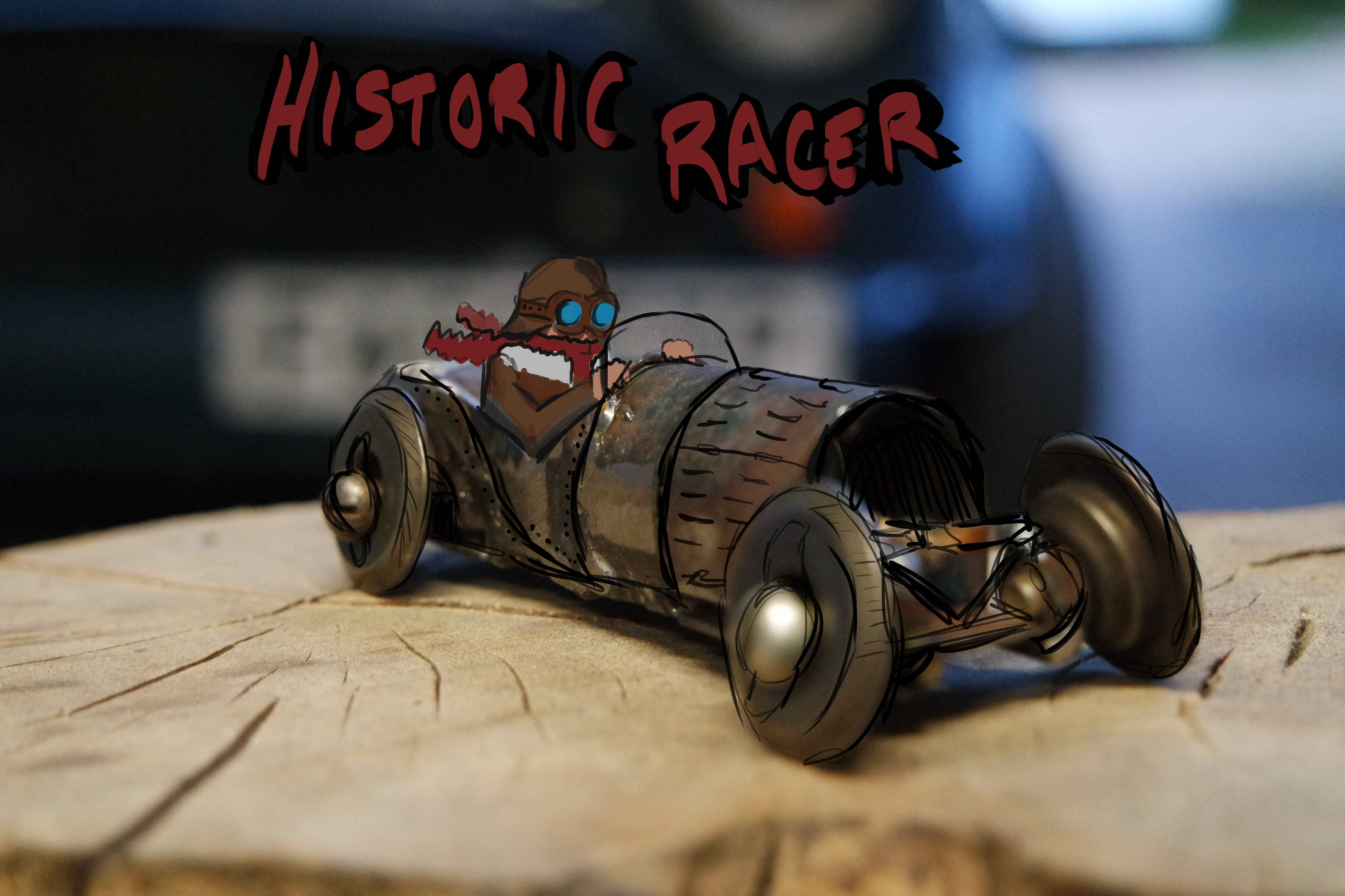 Picture of Metal Historic Racer