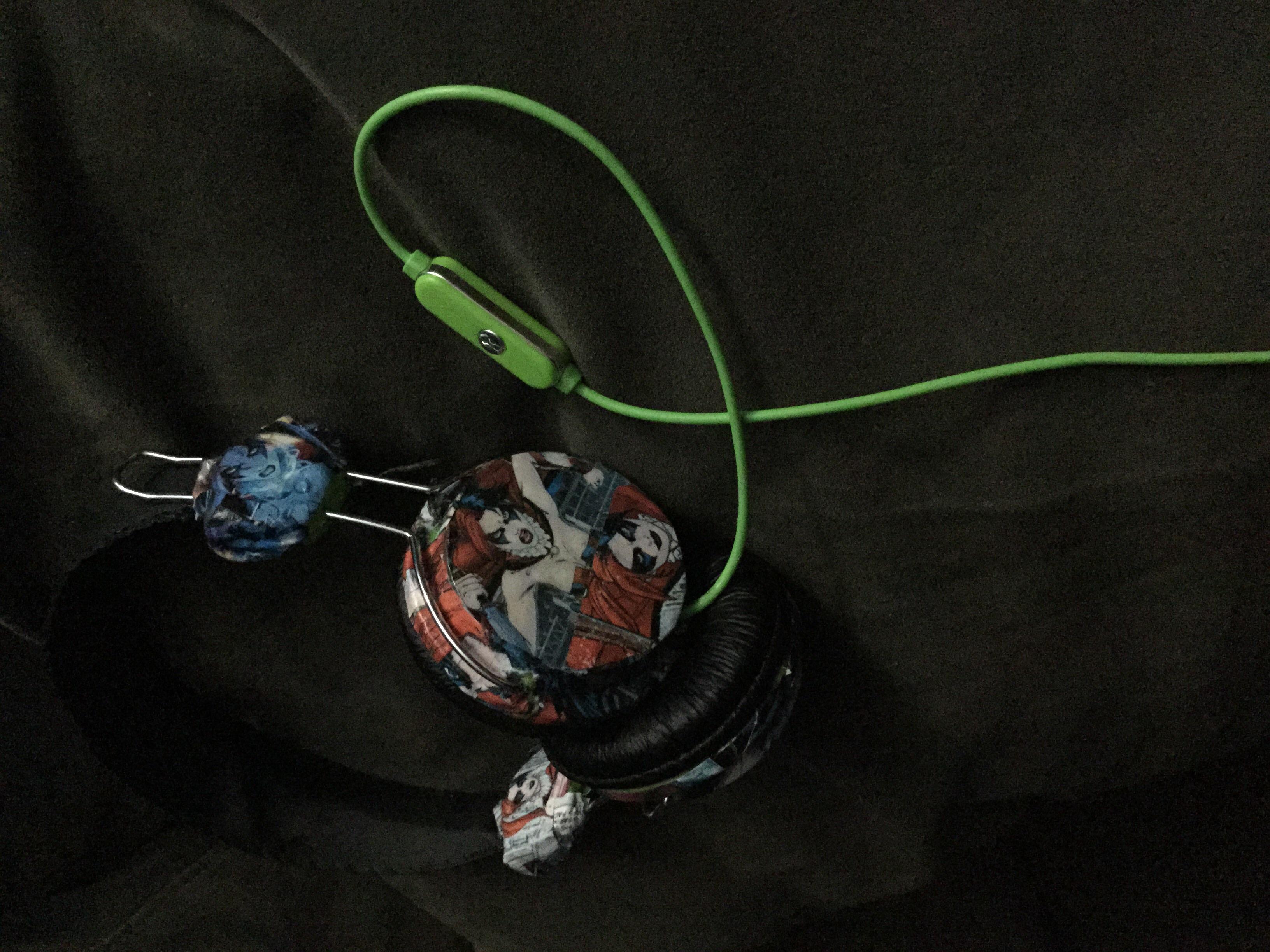 Picture of Girl Power!  DIY Harley Quinn Headphones